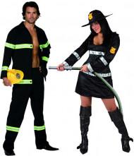 Brandweerkostuum voor koppels