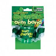 Armband met bekerhouder St-Patrick's Day