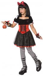 Vergiftigde prinses kostuum voor meisjes