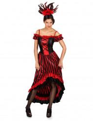 Kostuum cabaretdanseres voor vrouwen