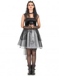 Gothic bruidskostuum voor vrouwen