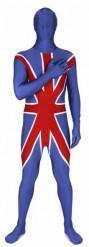 Engelse Union Morphsuits™ kostuum voor volwassenen
