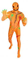 Morphsuits™-vermomming als pompoen voor volwassenen