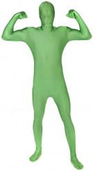 Groene Morphsuits™-vermomming voor volwassenen