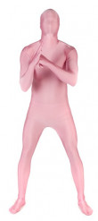 Roze Morphsuits™ kostuum voor volwassenen