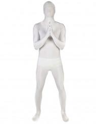 Wit Morphsuits™ kostuum voor volwassenen