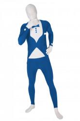 Morphsuits™ kostuum blauwe tuxedo voor volwassenen