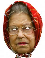 Masker van Koningin Elisabeth met sjaal