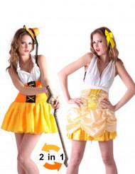 Alpenmeisje en prinses kostuum voor vrouwen