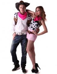 Cowboy koppel kostuum voor volwassenen
