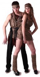 Prehistorisch koppelkostuum voor volwassenen