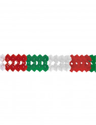 Slinger in rood, wit en groen