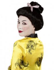 Zwarte geishapruik voor vrouwen