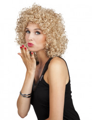 Blonde pruik met krullen voor vrouwen