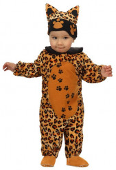 Luipaard kostuum voor baby's