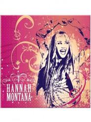 20 papieren servetten van Hannah Montana™