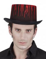 Bebloede hoed voor volwassenen