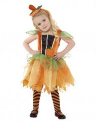 Pompoenfeekostuum voor meisjes