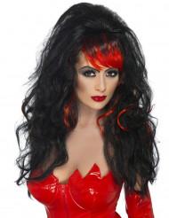 Duivelinnenpruik voor vrouwen Halloween
