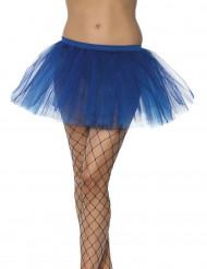 Blauwe damestutu