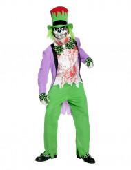Boosaardige clownskostuum voor volwassenen