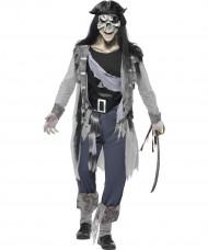 Spookpiraat kostuum voor mannen