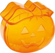 Halloweenkoffertje in de vorm van een pompoen