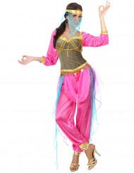 Roze oosterse danseressenoutfit