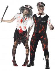 Politiekostuum Halloween zombiekoppel