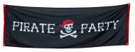 Piraten banier met doodskop