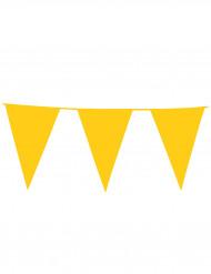 Gele vlaggetjesslinger