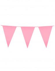 Roze vlaggetjesslinger