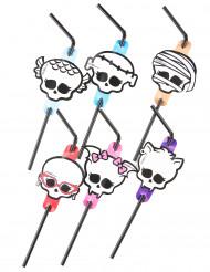 Flexibele Monster High™-rietjes voor Halloween