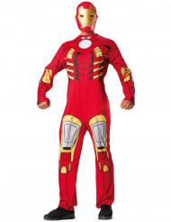 Iron man™ outfit met opdruk voor volwassenen
