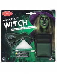 Heksenmake-up kit voor volwassenen Halloween