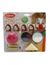 Clownsmake-up kit voor Halloween