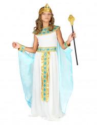 Zwarte Egyptische koningin kostuum voor meisjes