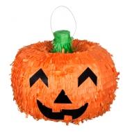 3D pompoenpiñata voor Halloween