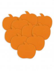Halloweentafeldecoratie met pompoenen