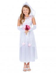 Witte bruidsjurk voor meisjes