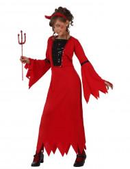Rood duivelinkostuum voor kinderen