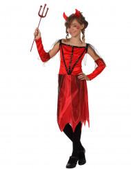 Rode duivel kostuum voor meisjes