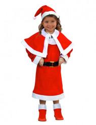 Kerstvrouw kostuum voor kinderen
