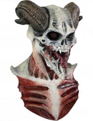 Masker van een duivels skelet voor volwassenen Halloween