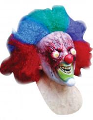 Masker van een bloedende clown voor volwassenen Halloween