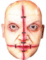 Masker van een moordenaar met littekens voor volwassenen Halloween
