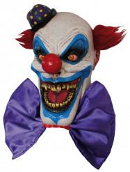 Masker van een angstaanjagende clown met een grote glimlach voor volwassenen Halloween