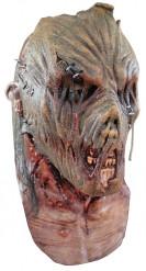 Masker van een zombie vogelverschrikker voor volwassenen Halloween