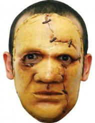 Geel moordenaars masker voor volwassenen Halloween
