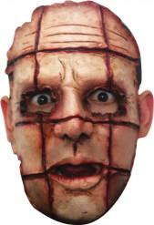 Masker van een verscheurde moordenaar voor volwassenen Halloween